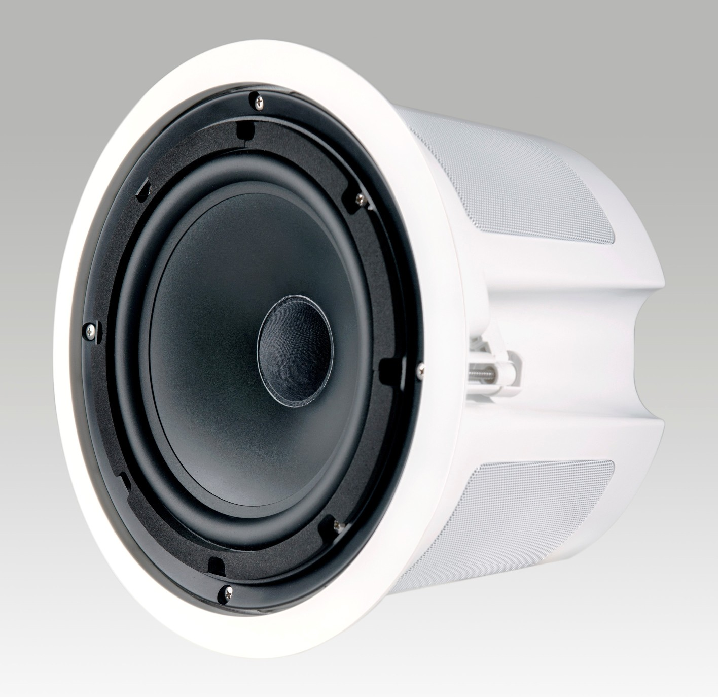 hight resolution of krix stratospherix outdoor 2 way in ceiling speaker photo with grille removed 212kb