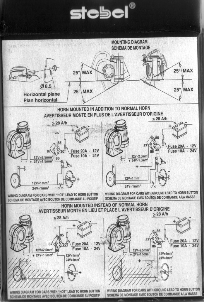 Air Horn Wiring Diagram As Well Wiring Diagram Wiring Harness Wiring