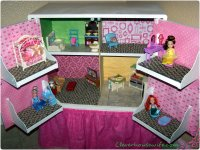 DIY Dollhouse from Repurposed Furniture - Clever Housewife