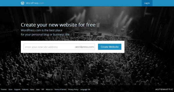 Wordpress SIGNUP