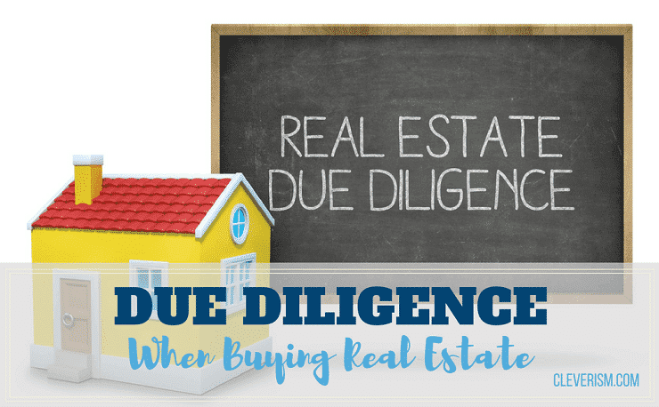 Due Diligence When Buying Real Estate