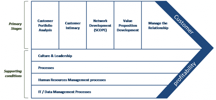 Buttle's CRM Value Chain Model