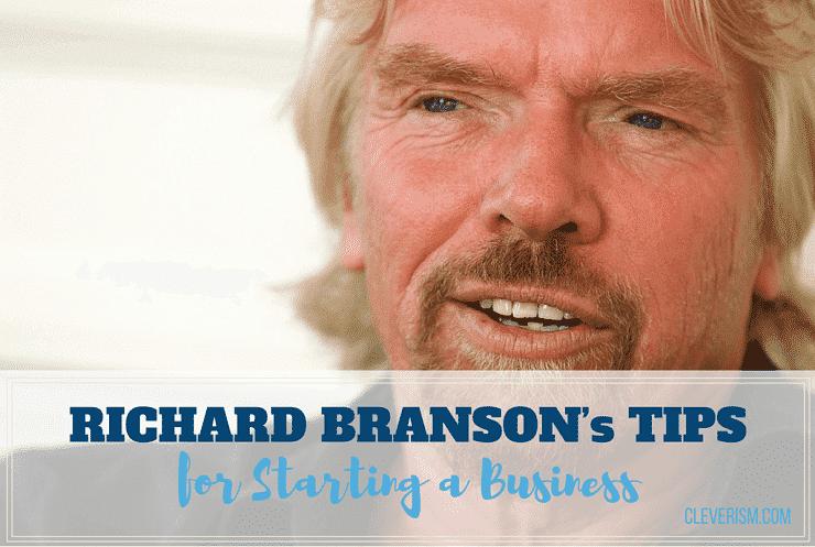 Richard Branson's Tips for Starting a Business
