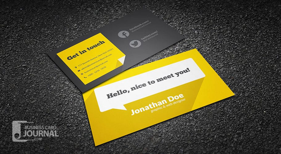 75 free business card templates that are stunning beautiful reheart Images