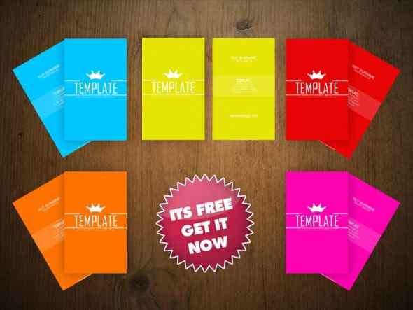 75 free business card templates that are stunning beautiful 26 simple colorful business card template colourmoves