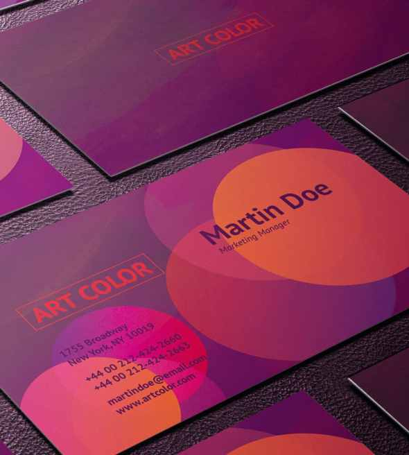 31-art-color-business-card-template