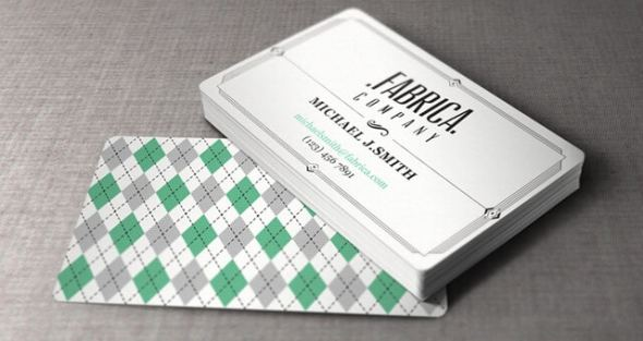 Free Business Card Templates That Are Stunning Beautiful - Vintage business card template