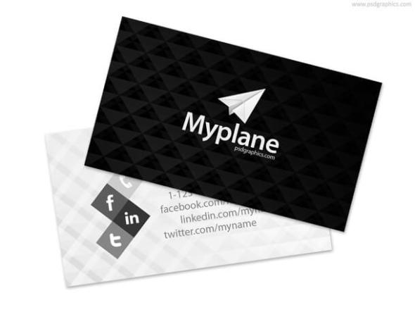 75 free business card templates that are stunning beautiful 50 black and white business card reheart Image collections