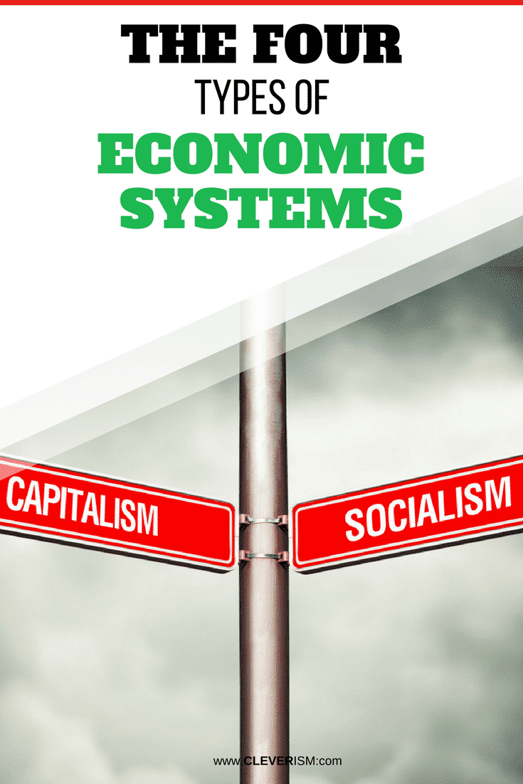 The Four Types of Economic Systems - #EconomicSystem #Capitalist #Socialism #Cleverism