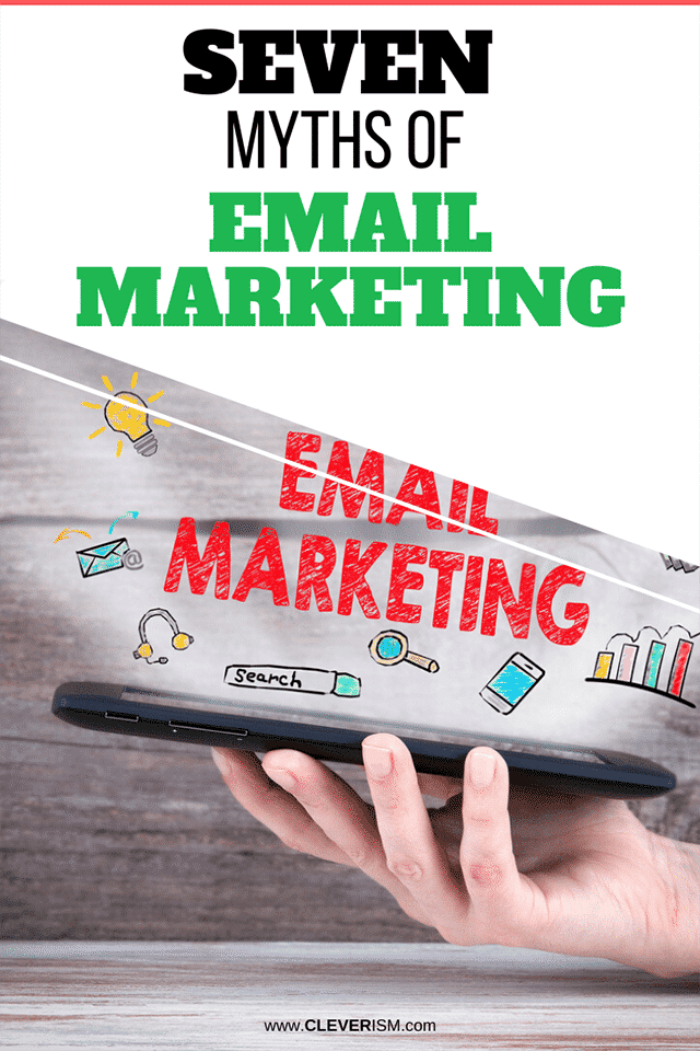 Seven Myths of Email Marketing