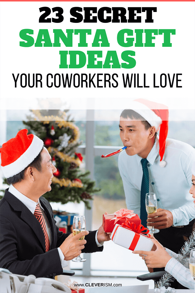 23 Secret Santa Gift Ideas Your Coworkers Will Love