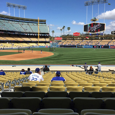 How to go to the Dodger Game