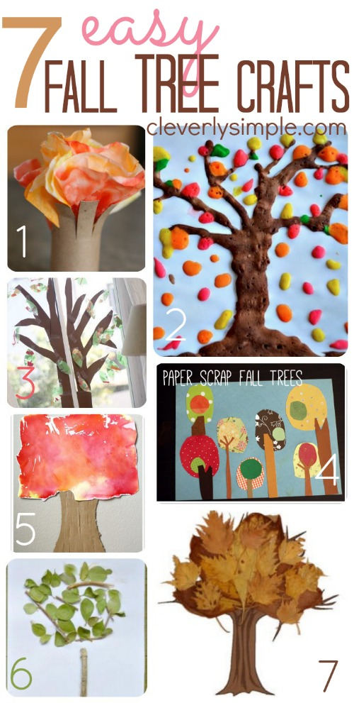 easy fall tree crafts
