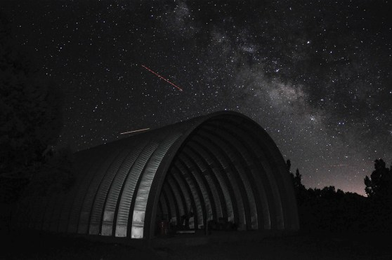 Clever Moderns Quonset Hut Construction Night Sky