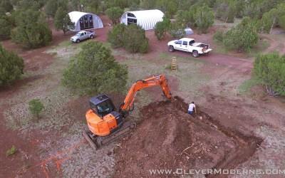 Quonset House Foundation Excavation
