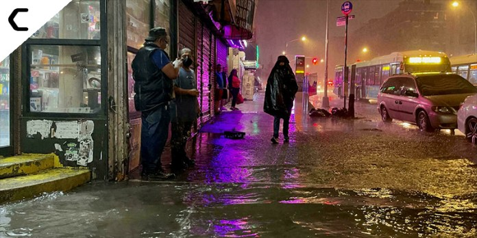 A State of Emergency declared in New York as Torrential Flooding Ravages the City