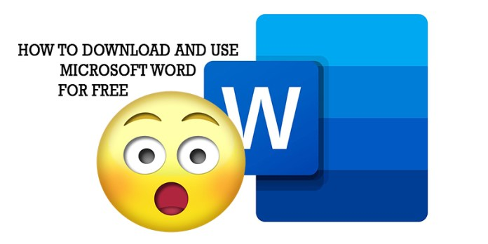 How to Download and use Microsoft Word for Free