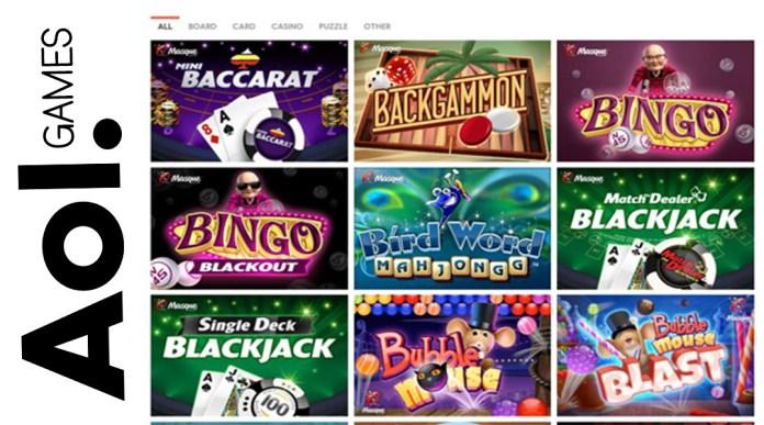 Games at AOL