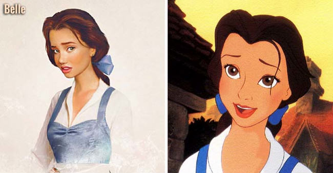 What Disney Princesses Would Look Like As Real People