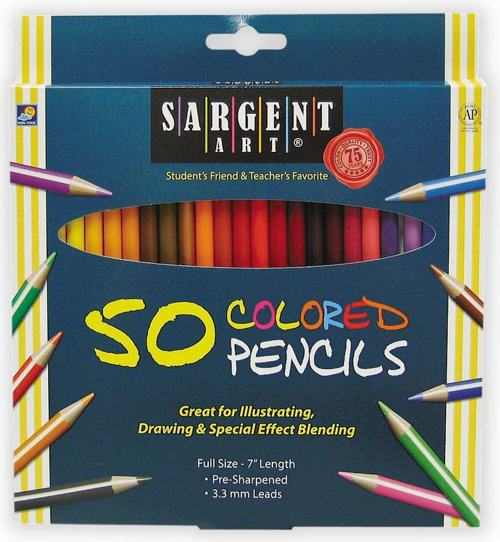 Sargent Colored Pencils