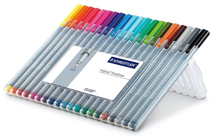 Staedtler Triplus Fineliner, Set of 20