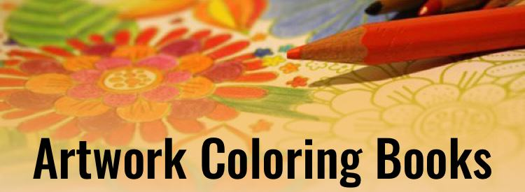 Artwork Coloring Books