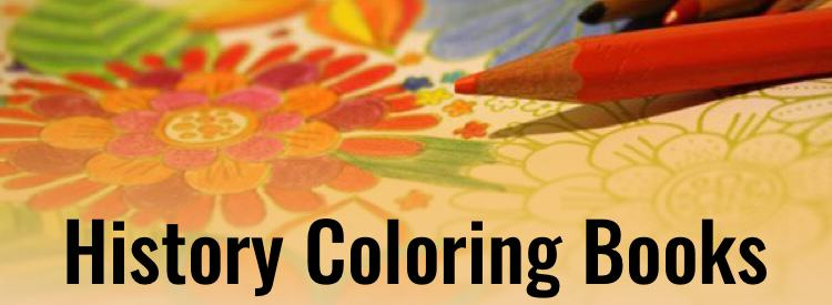 History Coloring Books