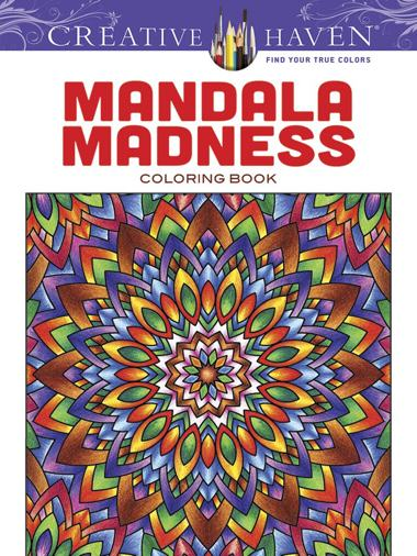 Adult Coloring Book Color Away Stress  50 Mandala Patterns  Vol 1 Adult Coloring Books