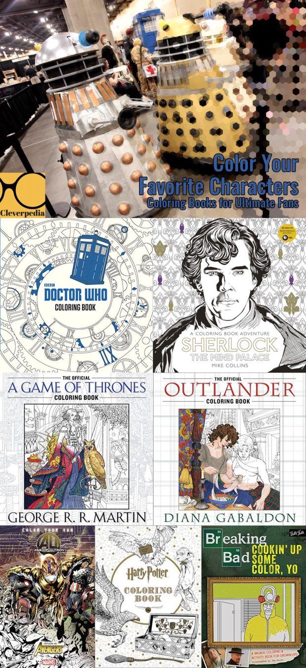 Color Your Favorite Characters: Coloring Books for Ultimate Fans