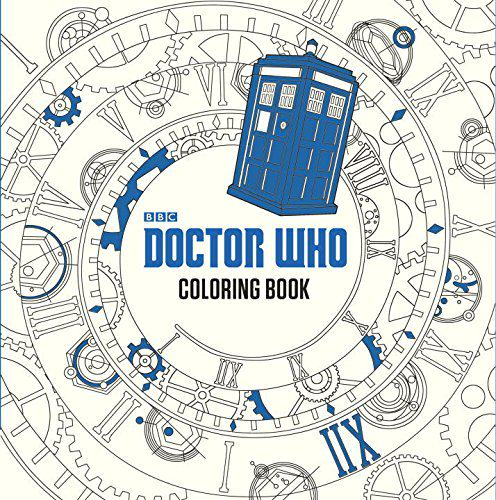 The Official Doctor Who Colouring Book