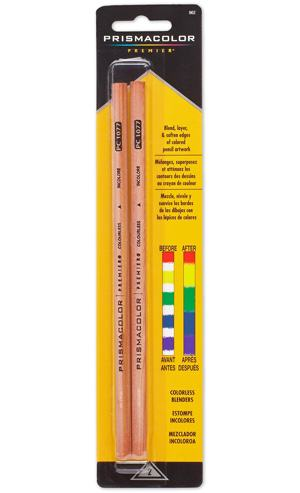 Prismacolor Blender Pencil Colorless, 2-pack