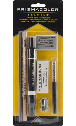 Sanford Prismacolor Colored Pencil Accessory Set, 7-Piece