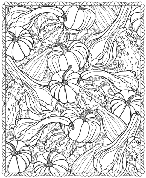 3-D Coloring Book: Happy Halloween (Dover 3-D Coloring Book)