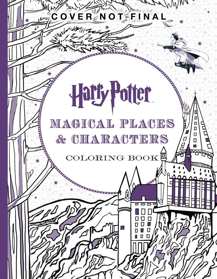 The Official Harry Potter Coloring Book 3 Magical Places Characters