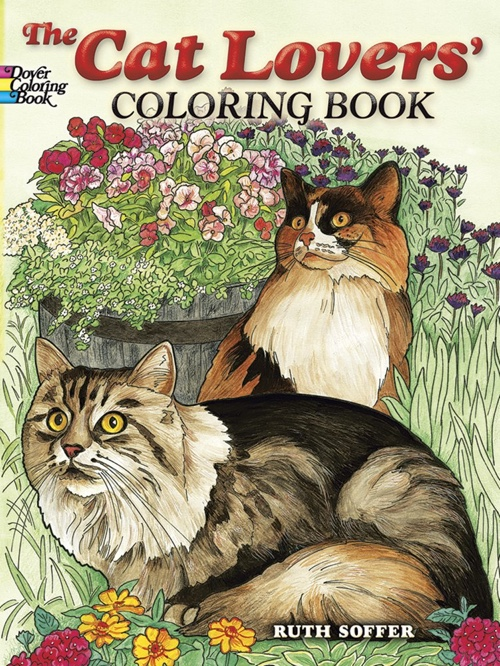 The Cat Lovers Coloring Book