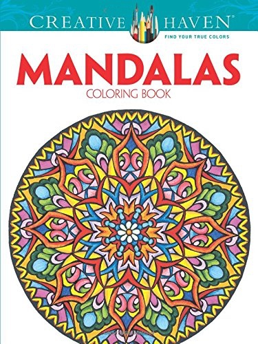 Creative Haven Mandalas Collection Coloring Book