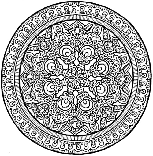 35 Mystical Mandala Coloring Book - Free Printable Coloring Pages