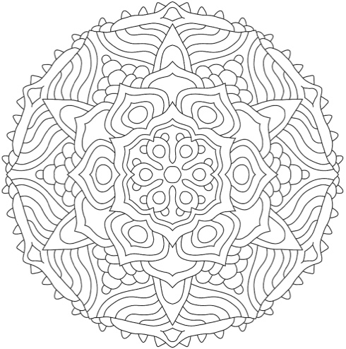 mandala coloring books 20 of the best coloring books for adults. Black Bedroom Furniture Sets. Home Design Ideas