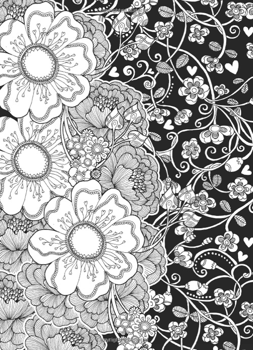 creative designs coloring pages | Best Valentine's Day Coloring Books for Adults - Cleverpedia