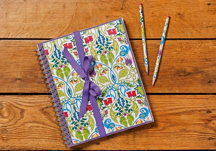 Crafty Ways to Use Your Coloring Pages: DIY Journal and Matching Pencil Set