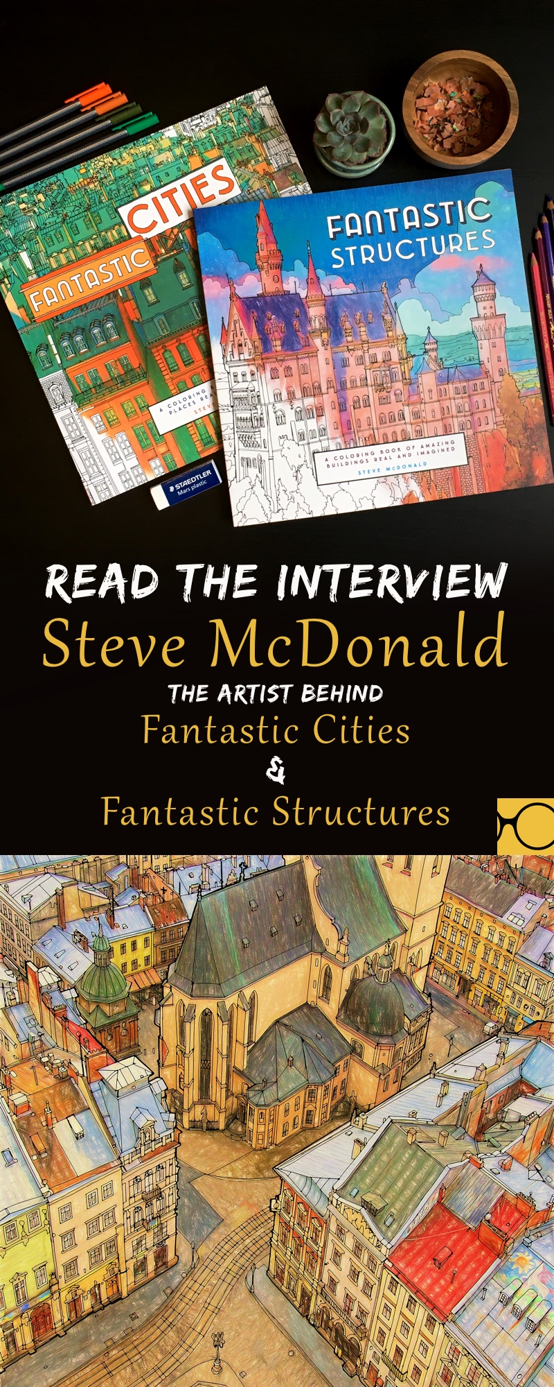 Click Here To Read An Interview With Steve McDonald The Talented Artist Behind Fantastic