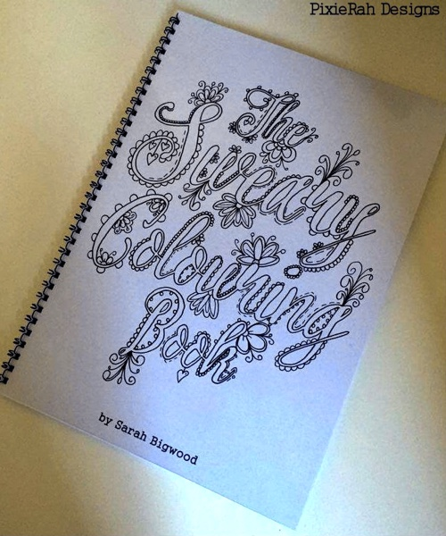 The Sweary Colouring Book Digital Download With 20 Pages Of Fancy Swears
