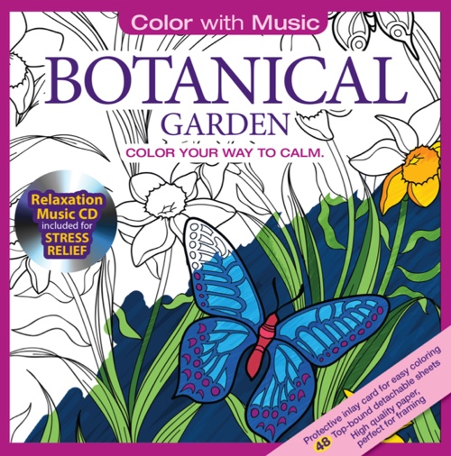 Color With Music: Botanical Garden