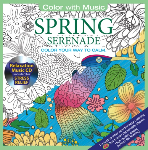 Color With Music: Spring Serenade