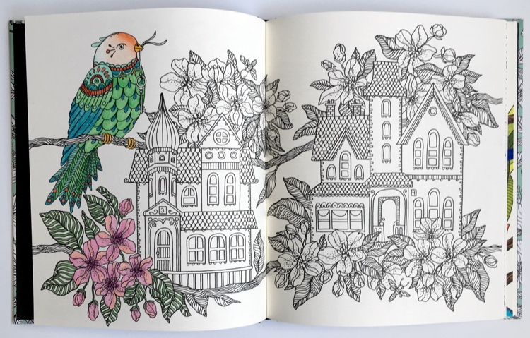 Hanna Karlzons Gorgeous Swedish Coloring Books Released In US