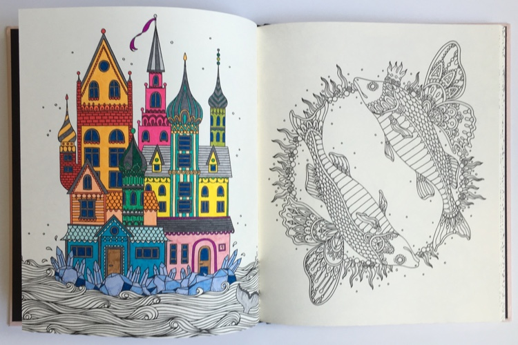 Hanna Karlzon S Gorgeous Swedish Coloring Books Released In Us