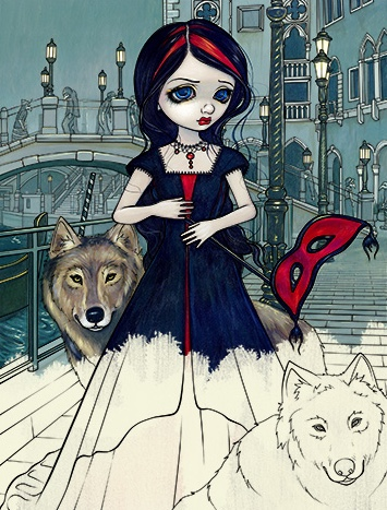 Jasmine Becket-Griffith Halloween Coloring Book: A Spine-Tingling Fantasy Art Adventure