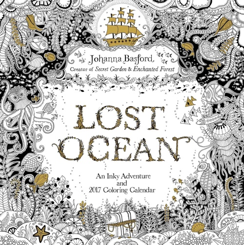 Lost Ocean 2017 Wall Calendar