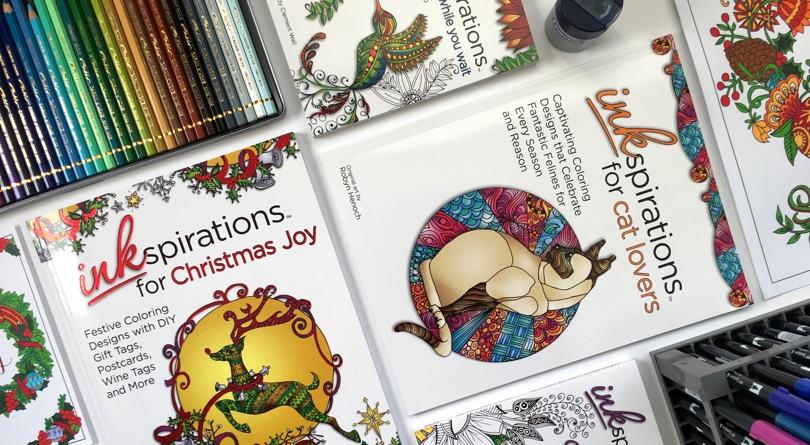 Cleverpedia + Inkspirations November Coloring Book Giveaway