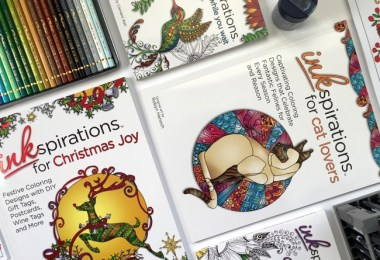 Cleverpedia + Inkspirations Coloring Book Giveaway